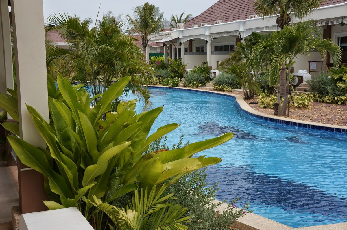 Hua Hin SMART HOUSE VILLAGE 3 Thailand Villa Pool haus Apartment Wohnung mieten