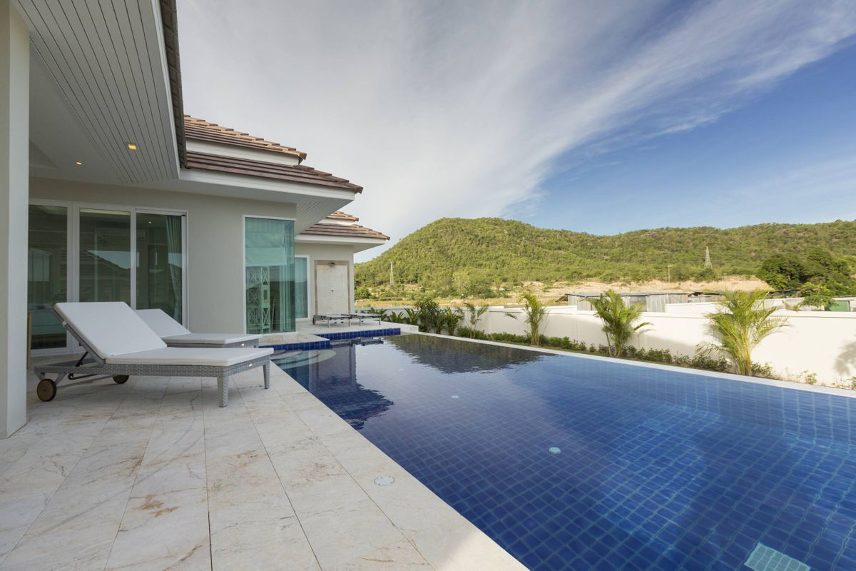 Thailand Hua Hin RED MOUNTAIN WOODLANDS Villa Haus Ferien pool meer