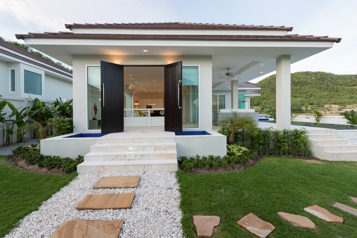 Thailand Hua Hin RED MOUNTAIN WOODLANDS Villa Haus Ferien pool kaufen